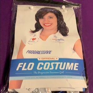 Progressive Flo Halloween Costume